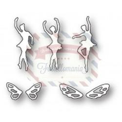 Fustella metallica PoppyStamps Magnificent Mini Faeries