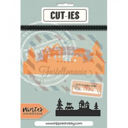 Fustella metallica CUT-IES Winter Wonderland