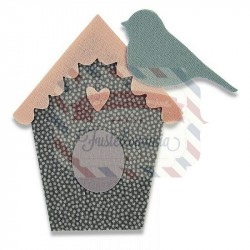 Fustella Sizzix Bigz Aviary by My Life Handmade