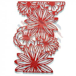 Fustella Sizzix Thinlits Naturals Florals by Sophie Guilar
