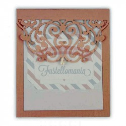 Fustella Sizzix Thinlits Moroccan Card Edge by Samantha Barnett