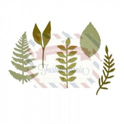 Fustella Sizzix Thinlits Meadow Leaves by Sophie Guilar