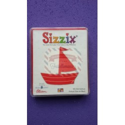 Fustella Sizzix Originals Sailboat barca a vela