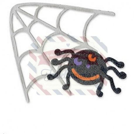 Fustella Sizzix Bigz Spider & Spiderweb