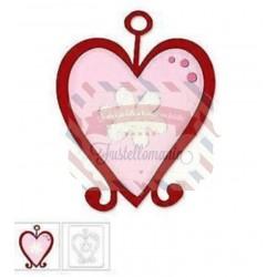 Fustella Sizzix Bigz Cuore San Valentino