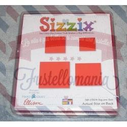 Fustella Sizzix Originals Quadrati