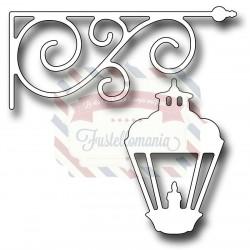 Fustella metallica Hanging Lantern