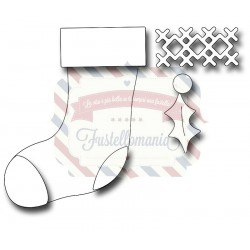 Fustella metallica Christmas Stocking