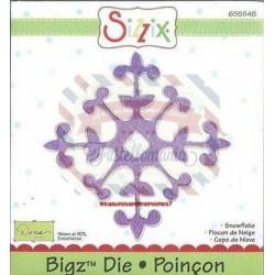 Fustella Sizzix Bigz Fiocco di neve