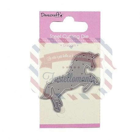 Fustella metallica Dovecraft Unicorn