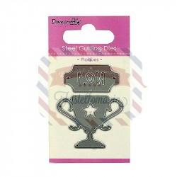 Fustella metallica Dovecraft Plaques