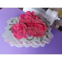 Fustella L Rosa grande