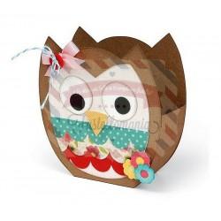 Fustella Sizzix BIGz XL Bag Owl
