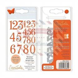 Fustella metallica Tonic Studios Windsor numerals