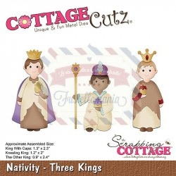 Fustella metallica Cottage Cutz Nativity - Three Kings