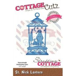 Fustella metallica Cottage Cutz St. Nick Lantern